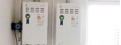 aquecedores de agua gas